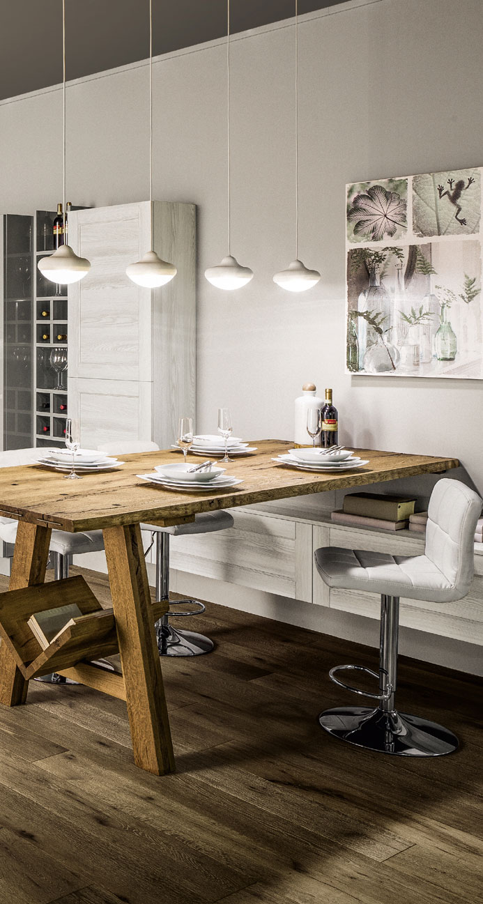 Arredamento shabby treviso dragtime for - Cucina stile etnico ...
